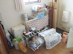 キッチン収納の中身