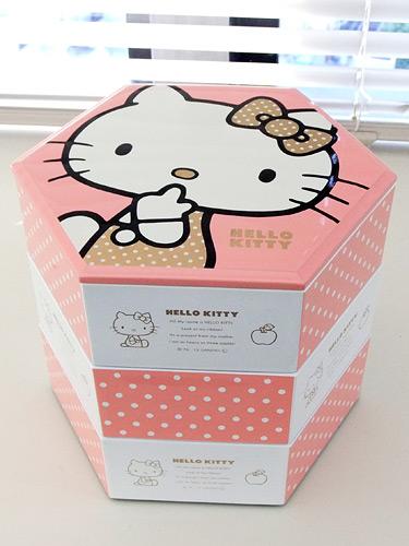 キティおせち 重箱
